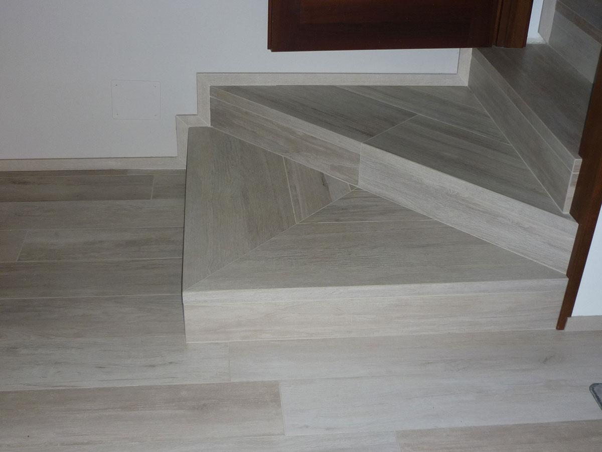 Binotto pavimenti - Scale gres porcellanato ...
